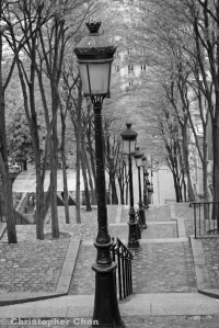 Montramate steps in Paris, France