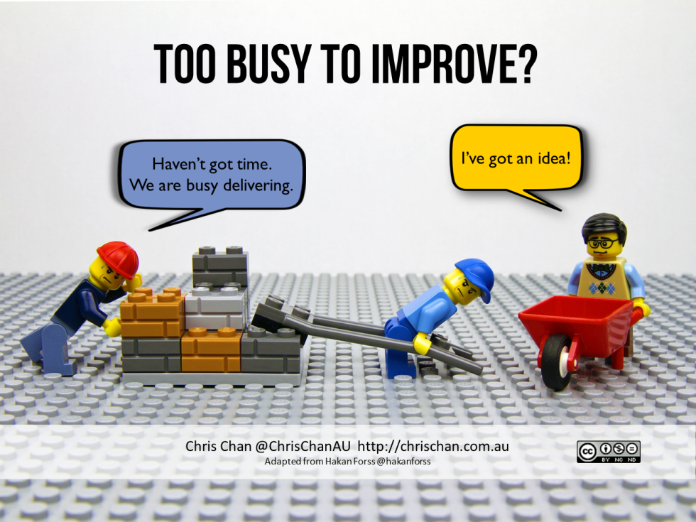 The Improvement Paradox Too Busy To Improve Hi I M